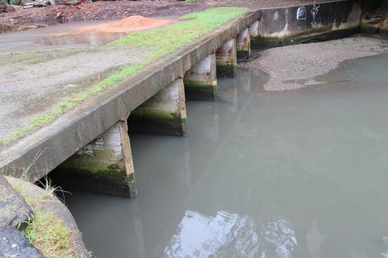 river culvert