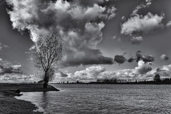 river landscape v