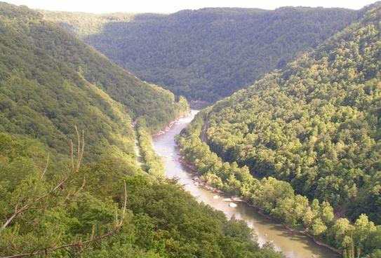 river overlook landscape