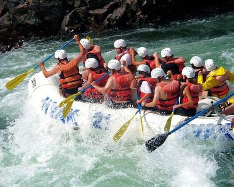 river rafting fraser river outdoor