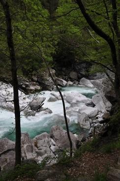 river water stones