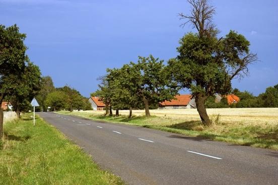 road way fields