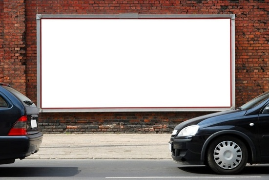 roadside blank billboards definition picture