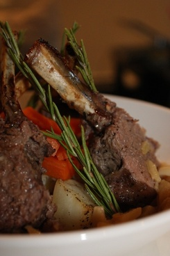 roast lamb rosemary