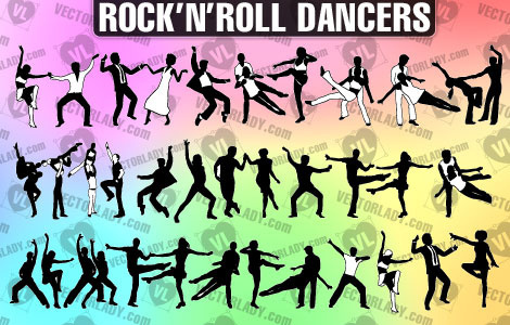 rock and roll dancers