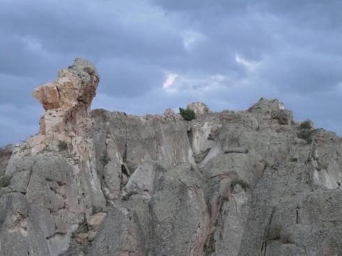 rock cliff limestone