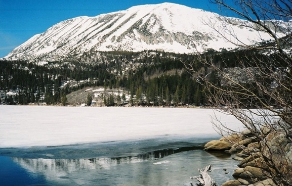 rock creek lake eastern sierras