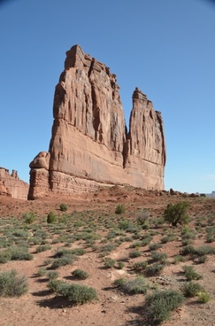 rock rock formation arches