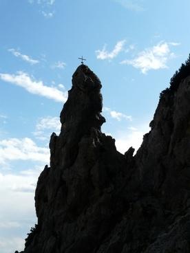 rock tower cross summit cross