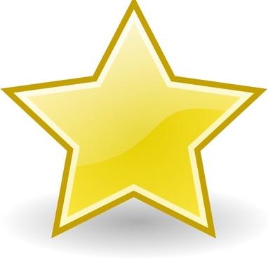 Rocket Emblem Star clip art