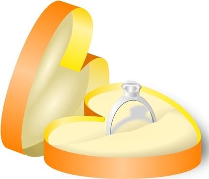 Rockraikar Wedding Ring In A Box clip art