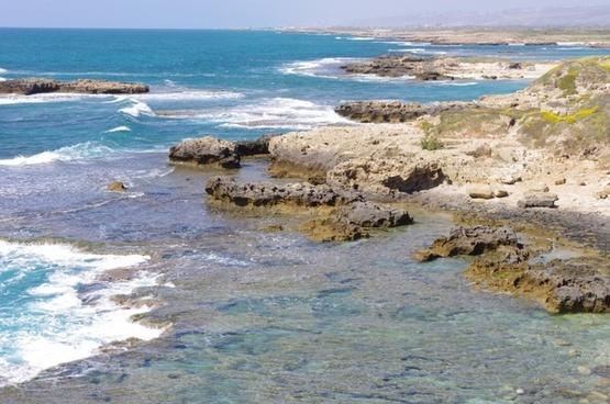 rocky coast line