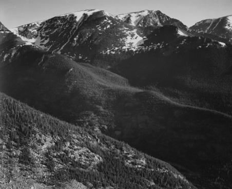 rocky mountains colorado snow