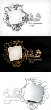 roll angle with elegant pattern vector