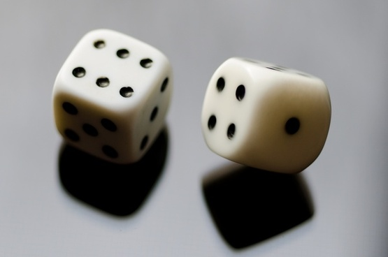 roll the dice or how a stock photo is born