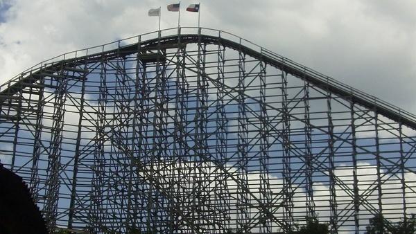 roller coaster attraction