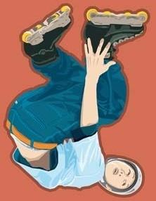 roller skate vector 1