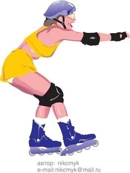 roller skate vector 7