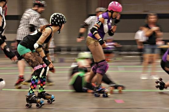 rollerderby skate roller-skating