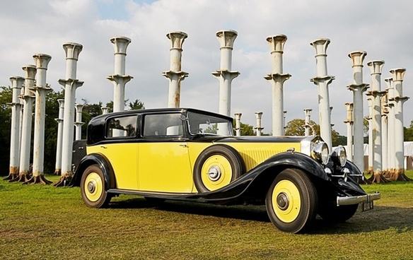 rolls royce automobile vintage