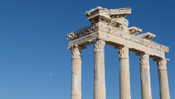 roman building ruin