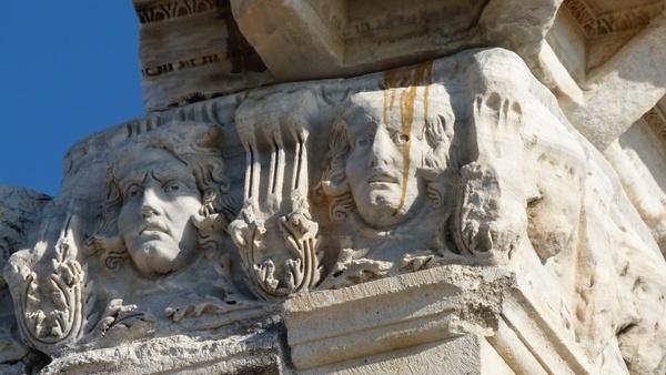 roman stone old