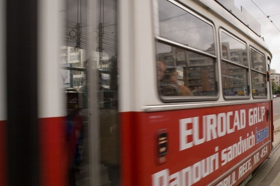 romania street car