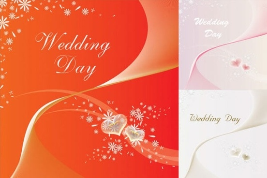 wedding card background fireworks flowers decor dynamic design