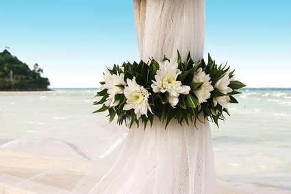 romantic beach wedding pictures 1