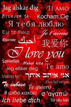 romantic heart valentine background free vector