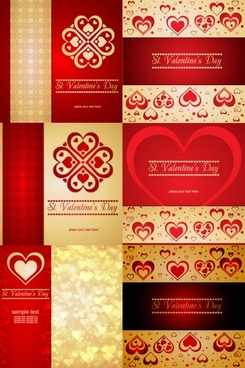 romantic heartshaped background pattern vector
