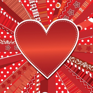 romantic heartshaped heartshaped sweet love label vector greeting card