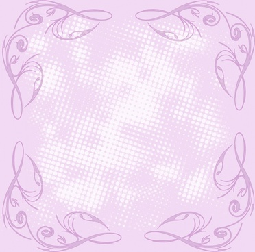romantic lilac background