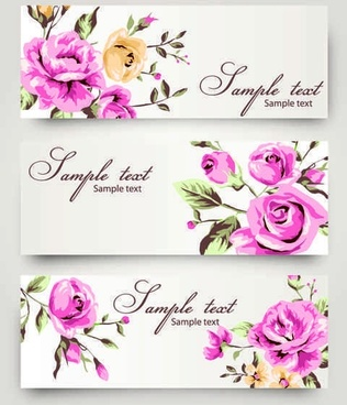 Romantic Rose pattern vector background