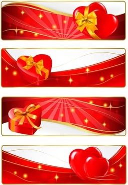 romantic valentine39s day element bow vector