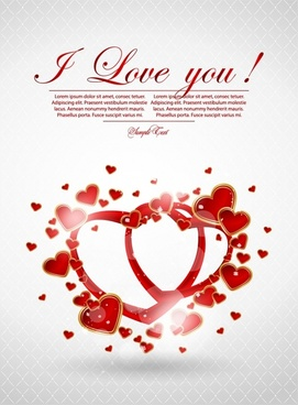 romantic valentine39s day love heart to heart vector