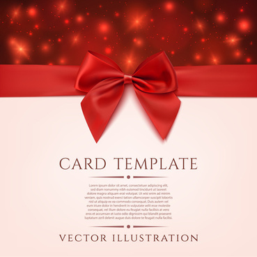 romantic valentine gift cards vectors
