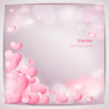 romantic wedding backgrounds vector