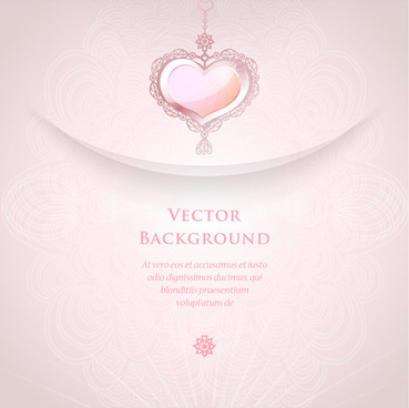 romantic wedding backgrounds vector