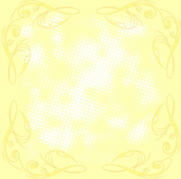 romantic yellow background