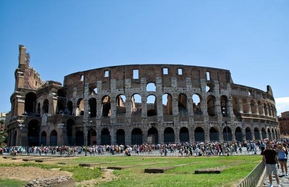 rome colosseum building