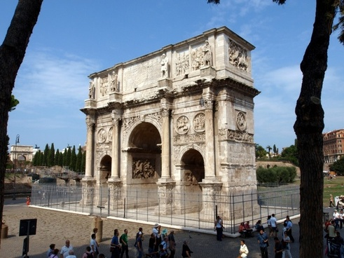 rome italy arch of constantine