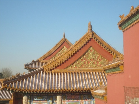 roof tops forbidden city