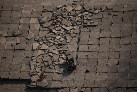 roof tops tiles