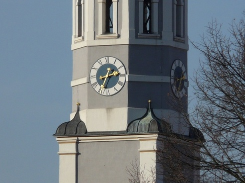 rook clock tower church