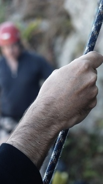 rope climbing mountaineering