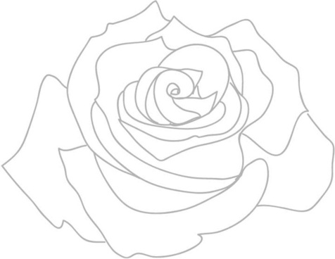 Rose Outline Png Free Vector Download 68 500 Free Vector For