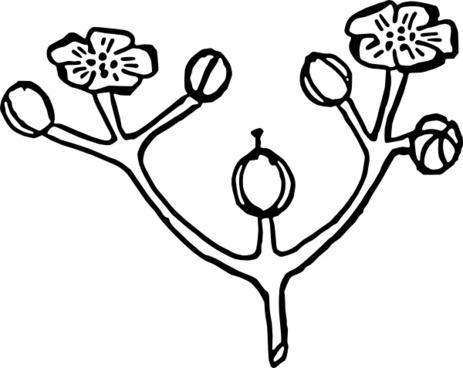 Roses Flower Arrangement clip art