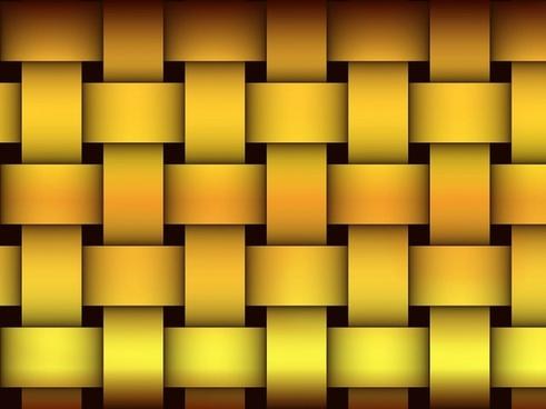 rough gold weaving pattern