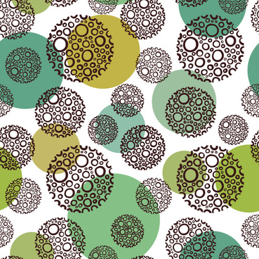 round abstract pattern vector graphics